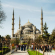 SultAhmed Mosque (Blue Mosque) in Istanbul — Stock Photo #28908697