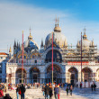 Piazza San Marco on in Venice — Stock Photo #28909155