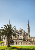Sultan Ahmed Mosque (Blue Mosque) in Istanbul — Stock Photo
