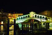 Rialto Bridge (Ponte Di Rialto) in Venice, Italy — Stock Photo