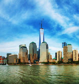 New York City cityscape panorama — Stock Photo