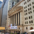 New York Stock Exchange building — Stock Photo