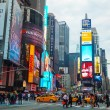 Times square in New York City — 图库照片