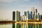 Chicago downtown cityscape — Stock Photo