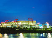 LP Field in Nashville, TN in the evening — Stock Photo