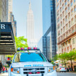Stock Photo: New York City Police Department (NYPD) patrol car