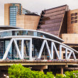 Постер, плакат: Philips Arena and CNN Center in Atlanta