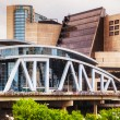 Stock Photo: Philips Arenand CNN Center in Atlanta