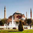 Hagia Sophia in Istanbul, Turkey early in the morning — Stock Photo