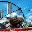 Jay Pritzker Pavilion in Millennium Park in Chicago — Stock Photo #31417033