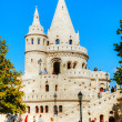 Fisherman's bastion on a sunny day in Budapest, Hungary — Stock Photo