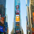 Times square in New York City — Stock Photo