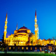 SultAhmed Mosque (Blue Mosque) in Istanbul — Stock Photo #31418305