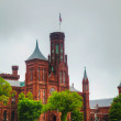 Smithsonian Institution Building (the Castle) in Washington, DC — Stock Photo