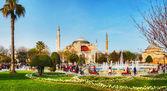 собор святой софии в стамбуле, турция в первой половине дня — Стоковое фото