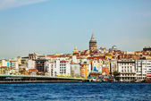 Istanbul cityscape with Galata tower — Stock Photo