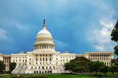 United States Capitol building in Washington, DC — Stock Photo