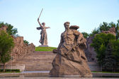 The Motherland calls! monument in Volgograd, Russia — Stock Photo