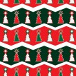 Christmas seamless background pattern — Stock Vector