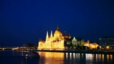 Hungarian Parliament — Stock Video