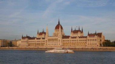 匈牙利国会大厦 — 图库视频影像