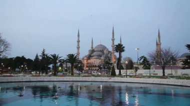Sultan Ahmed Mosque — Stock Video