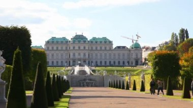 The Belvedere castle — Stock Video