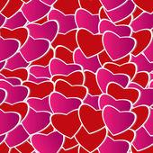 Valentine day seamless background pattern — Stock Vector