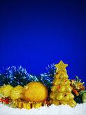 Christmas decorative balls — Stock Photo