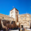 Stock Photo: The Church of Holy Sepulcher in Jerusalem