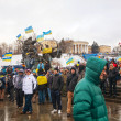 Anti-governmental protests in Kiev, Ukraine — Stock Photo #37949679