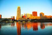 Centro da cidade de Minneapolis, Minnesota — Fotografia Stock