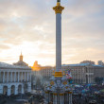 Постер, плакат: Maidan Independence square after the revolution
