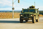 Russian armoured truck in Crimea, Ukraine — Stock Photo