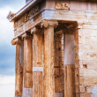 Temple of Athena Nike close up at Acropolis — Stock Photo