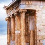 Temple of Athena Nike close up at Acropolis — Stock Photo