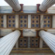 Ionic columns at The Academy of Athens — Stock Photo