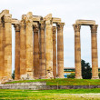 Temple of Olympian Zeus in Athens — Stock Photo #43114099