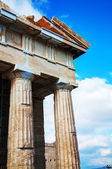 Parthenon at Acropolis in Athens, Greece — Stock Photo