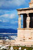 The Porch of the Caryatids in Athens — Stock Photo