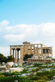 Porch of Caryatids in Athens — Stock Photo