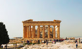 Partenón en la acrópolis de atenas, grecia — Foto de Stock