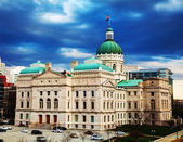 Indiana state capitol building — Stock Photo