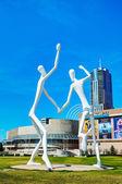 The Dancers public sculpture in Denver — Stockfoto