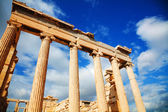 Erechtheum at Acropolis in Athens, Greece — Stock Photo