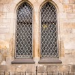 Old church windows — Stock Photo