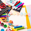 School and office stationary. Back to school concept — Stock Photo #21012285