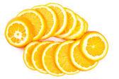 Pomerančová kolečka — Stock fotografie