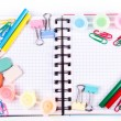 School and office stationary. Back to school concept — Stock Photo #21985485