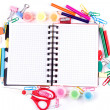 School and office stationary. Back to school concept — Stock Photo #21985497